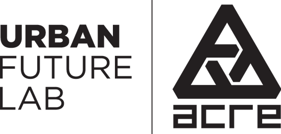 Urban Future Lab and Acre logos